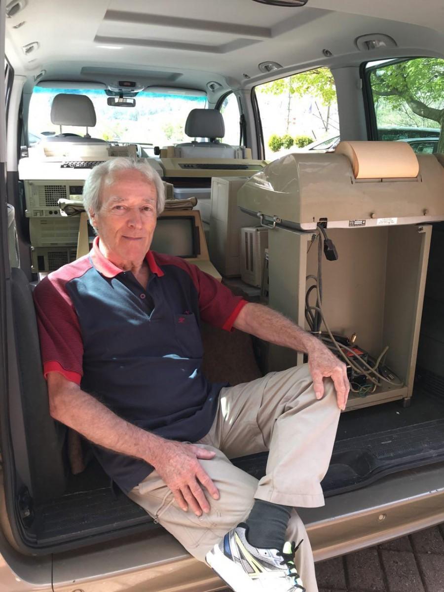 André Heitz, donateur de la coll
