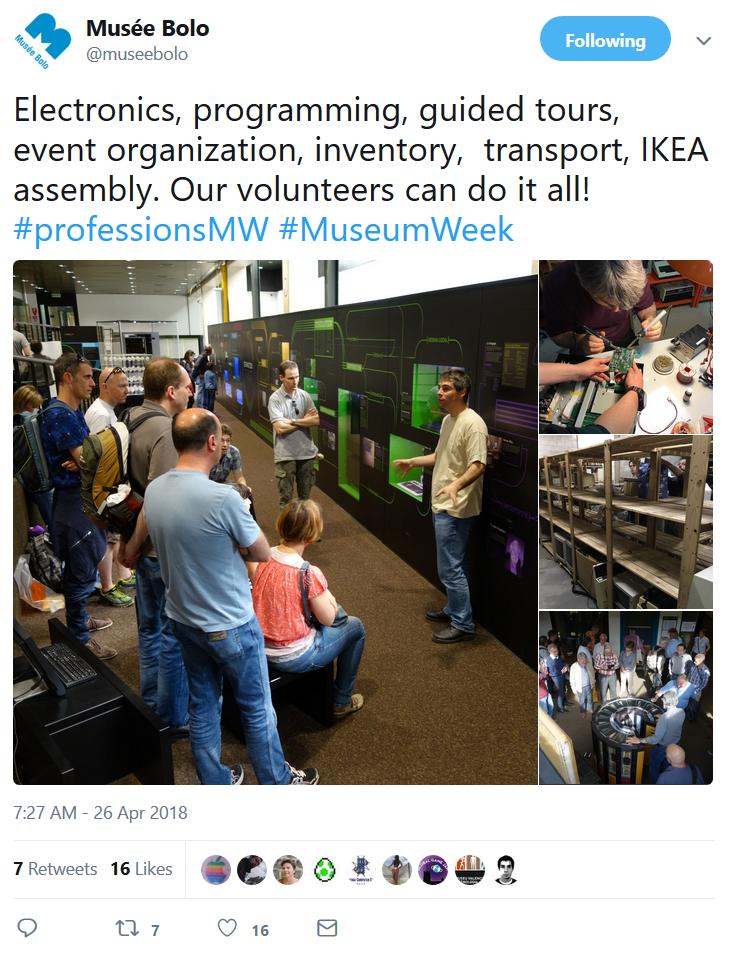 #professionsMW #MuseumWeek