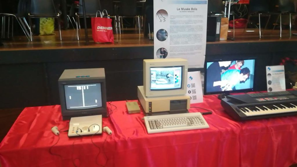 Le Pong et l'Atari PC3.