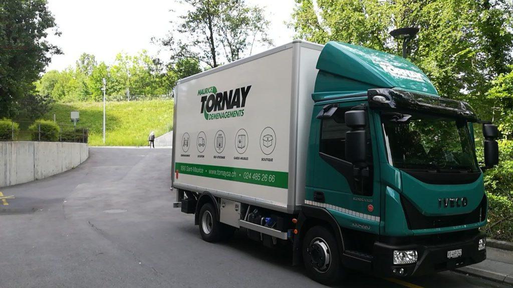 Le camion de Tornay SA