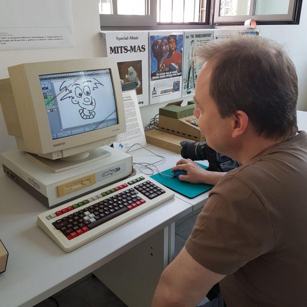 L'informatique, c'est aussi de l'art. Ici sur Smaky.
