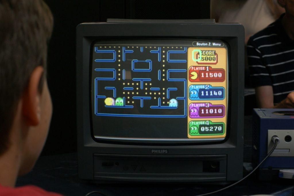 Pac-man Vs. - La vue côté Pac-man