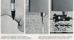 Coragraph dans le livre Computer Graphics, Computer Art de Herbert W. Franke (1971)