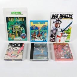 Echantillon de jeux vidéo Infogrames