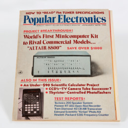 Magazine Popular Electronics N°1