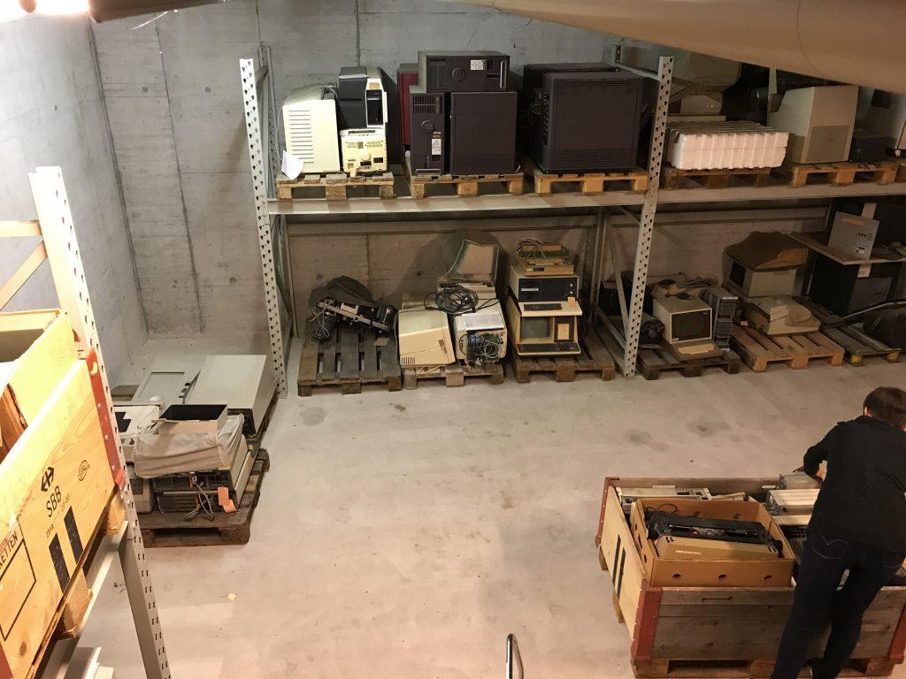 Mini-ordinateurs et palettes