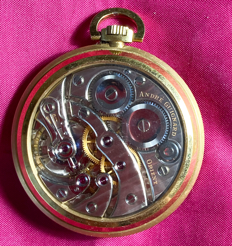 © André Guignard - La montre 17 lignes fabriquée par l'apprenti horloger André Guignard